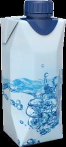 Agua en brik
